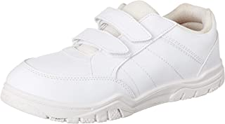 Paragon Boy's White School Shoes - 7 Kids UK (24.5 EU) (A1PV0029GPWHT00007G499)