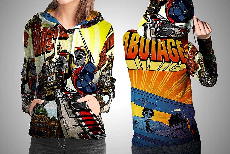 Beastie Boy American Rap Group Sabotage Album Cover Fullprint Woman Apparel Size S  XXXl