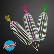 FlashingBlinkyLights Light Up LED Sparkling Spinner Toy (Set of 12)