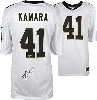 Alvin Kamara New Orleans Saints Autographed Nike White Game Jersey - Fanatics Authentic Certified - Autographed NFL Jerseys