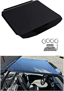 ECOTRIC Tinted Polycarbonate RZR Roof Top for 2 Seats 2014+ Polaris RZR Roof 900/1000, TURBO, 900 S, Trail XC W/Mounting Hardware