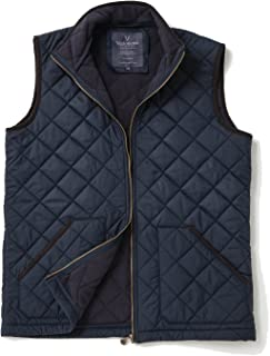Vedoneire Mens Fleece Lined Quilted Gilet (3024 Navy) Sleeveless Coat