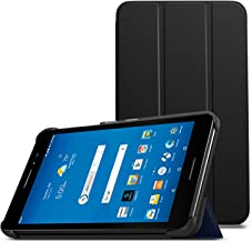 MoKo AT&T Trek 2 HD/ZTE ZPad 8 Tablet Case - Lightweight Slim Smart Shell Stand Cover Case with Auto Wake/Sleep for AT&T Trek 2 HD/ZTE Trek 2 HD K88 / ZTE ZPad 8 Inch Tablet, Black