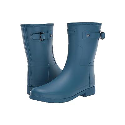 Hunter Original Refined Short Rain Boots (Rock Pool) Women