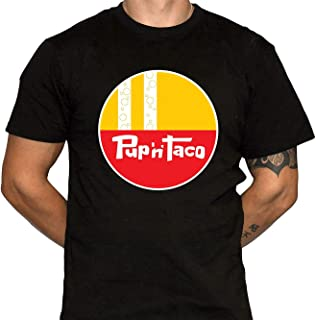 Pup-'n' Taco Funny Casual Tee,Fashion Men's Particular Leisure Soft T-Shirt