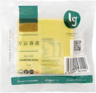LG Foods Square Wanton Skin - Chilled, 200 g