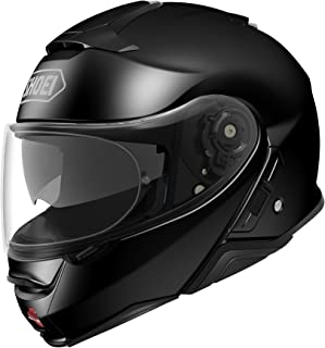 Shoei Neotec II Flip-Up Motorcycle Helmet Black Large (Additional Size and Colors)