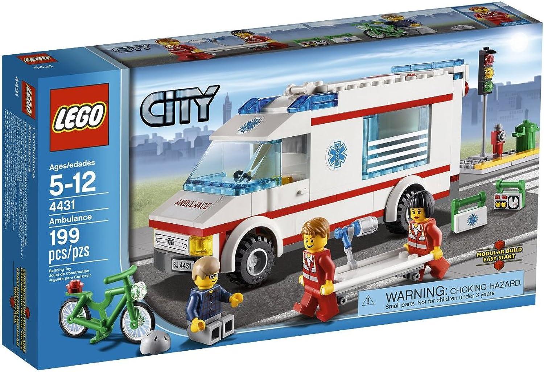 LEGO City Ambulance  4431