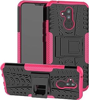 comprar comparacion Labanema Huawei Mate 20 Lite Funda, Heavy Duty Doble Capa Protección Pesada Híbrida Resistente Funda Protectora y Ro...