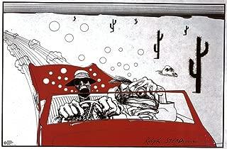 (24x36) Ralph Steadman (Fear and Loathing in Las Vegas) Art Poster Print