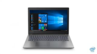 Lenovo Ideapad 330 Clamshell Laptop, Celeron-3867U, 15.6 Inch, 500GB HDD, 4GB RAM, Intel Graphics, Win10, Eng-Ara KB, ONYX BLACK