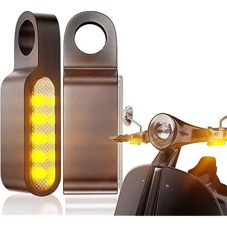 Highsider Motorrad Led Rücklicht Blinker Conero E Geprüft 2er Pack Auto