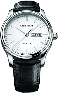 Louis Erard Men's 72268AA10.BDC21 Heritage Analog Display Automatic Self Wind Brown Watch