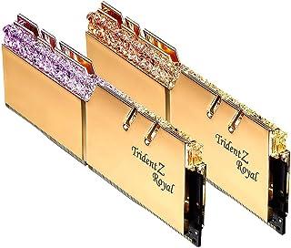 G.SKILL Trident Z Royal Series 16GB (2 x 8GB) 288-Pin RGB DDR4 3600 (PC4 28800) ذاكرة سطح المكتب F4-3600C16D-16GTRG