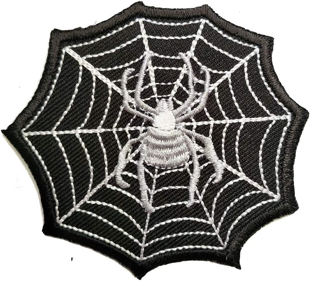 Spider Oklahoma City Mall Web Recommendation Black Animal Embroidered Cartoon L Kids Patch Iron-On