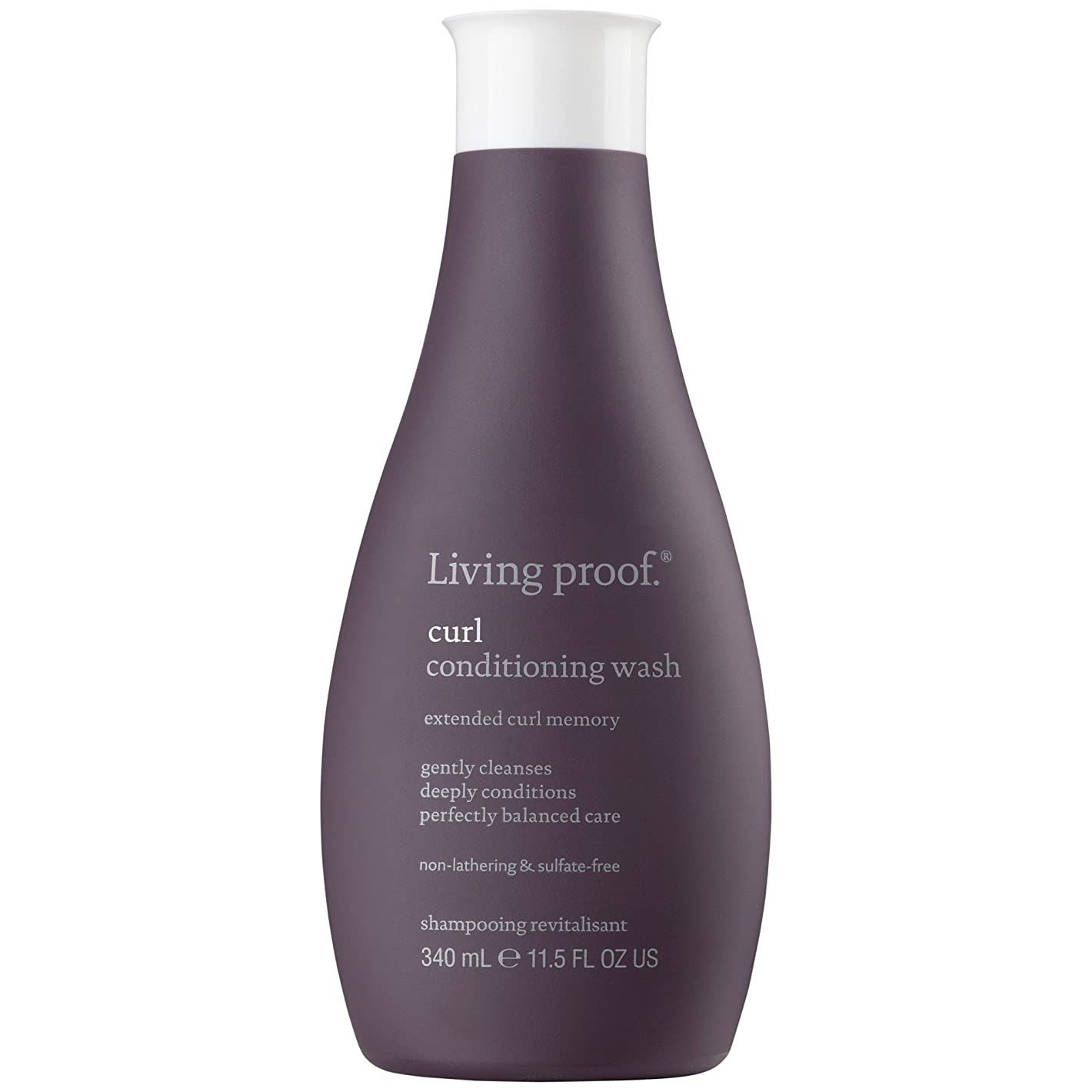 支払い証人一生きている証拠カールコンディショニングウォッシュ340ミリリットル (Living Proof) - Living Proof Curl Conditioning Wash 340ml [並行輸入品]