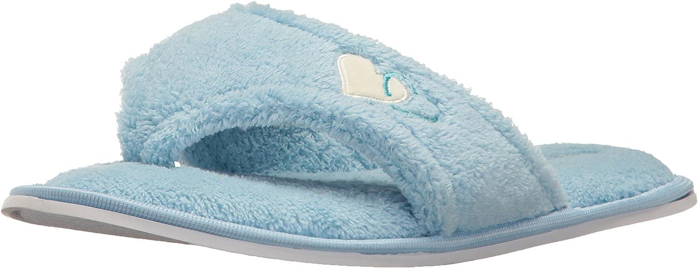 Aerusi Lady's Cute Home Slipper Comfy Soft Sole Indoor Bedroom Slippers Classy Spa Open Toe Slide Slipper