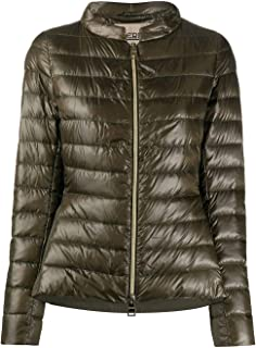 Herno Luxury Fashion Womens PI1068D120177730 Green Down Jacket | Spring Summer 20