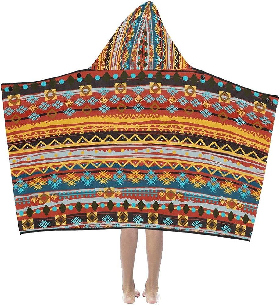 Sofa Throw Blanket Ethnic Boho At the price of surprise Pattern Trust Art Kids Tribal Bl Hooded