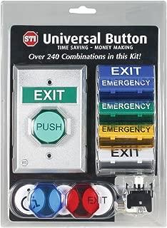 Safety Technology International, Inc. UB-1 Universal Button, Momentary Illuminated LED Push Button, Ready to Assemble Out of Box