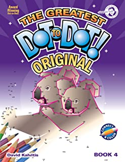 Greatest Dot-to-Dot Book in the World (Book 4) - HChristmas Favorites - Relaxing Puzzles