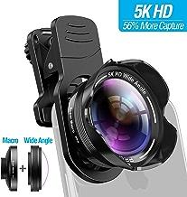 Phone Camera Lens Kit 2 in 1 Pro Camera Lens Kit 15X...