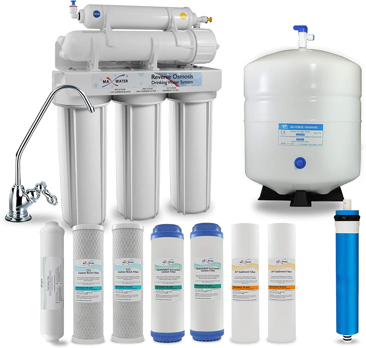 Max Water 5 Stage 56% OFF Home Wa Osmosis Reverse System Virginia Beach Mall
