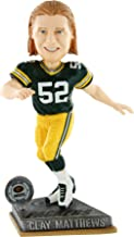 Forever Collectibles Green Bay Packers Clay Matthews #52 2015 Springy Bobblehead