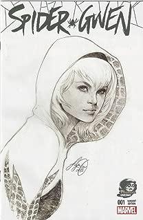 Spider Gwen #1 Phantom Variant Sketch Cover by Siya Oum