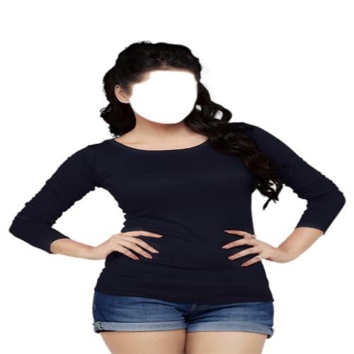 Woman T-shirt Photo Montage