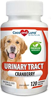 Cranberry for Dogs - Urinary Tract Support, Prevents UTI,...