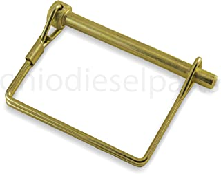locking pin with folding latch