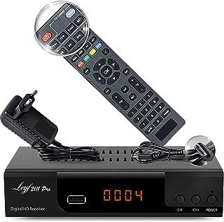 Reproductor Multimedia Salida en Bucle 1080p SCART MKV USB Receptor de Cable Digital Full HD DVB-C//C2 para Todos los proveedores de Cables con HDMI instalaci/ón autom/ática Pantalla LED