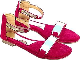 TipnToes Women's Fashion Flat Sandals