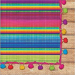 Creative Converting Serape Lunch Paper Napkins- 16 pcs., Multicolor
