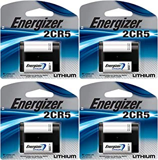 4 X Energizer 2Cr5 6 Volt Lithium Battery 245 Dl245 El2Cr5 Kl2Cr5