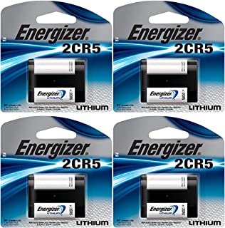 4 X Energizer 2Cr5 6 Volt Lithium Battery 245 Dl245 El2Cr5 Kl2Cr5