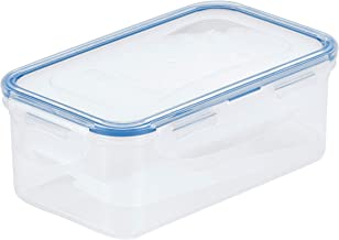 LOCK & LOCK Airtight Rectangular Food Storage Container with Butter insert, Butter Case 25 -oz / 3.17-cup