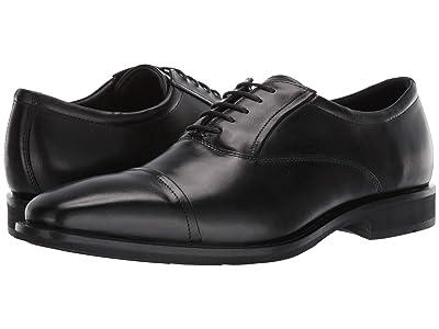 ECCO Calcan Cap Toe Tie (Black) Men