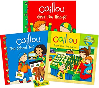 Caillou Party Supplies Caillou Activity and Stickers Book Set for Toddlers Kids -- 2 Caillou Books Filled with over 400 Ca...