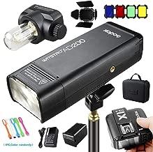 Godox AD200 200Ws 2.4G TTL Flash Strobe Speedlite Monolight 1/8000s HSS 2900mAh Battery with X1T-S Wireless Flash Transmitter & BD-07 Barn Door Kit Compatible for Sony Cameras
