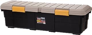 アイリスオーヤマ ボックス RVBOX カートランク CK-130 カーキ/ブラック 幅130×奥行45×高さ39cm