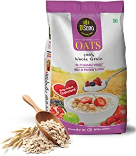 Disano High in Protein and Fibre Oats Pouch, 500 g