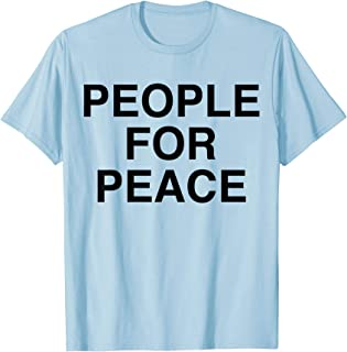 John Lennon - People For Peace T-Shirt