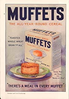 All-Year Round Cereal Muffets Whole Wheat ad 1926