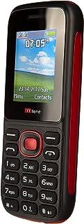 Dual Sim TT120 Mobile Phone - Camera - Bluetooth - Cheapest Twin 2 Sim Phone - Red