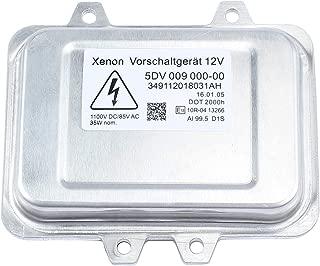 AUTOUTLET 5DV 009 000-00 Xenon HID Headlight Ballast Control Unit Module for Cadillac Escalade, BMW 5-series E60, Mercedes Benz, Dodge, Lincoln, Volkswagen,Chrysler, Jaguar - 18 Months Warranty