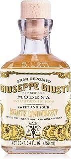 Giuseppe Giusti White Wine Vinegar - White Balsamic Vinegar - Italian Made - Aged Balsamic Vinegar - Fruity and Sweet - Sa...