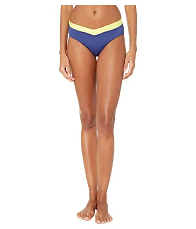 Seafolly In the Loop Retro V Front Pant Bikini Bottoms (Blue Opal) Women