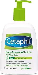 Cetaphil DailyAdvance Ultra Hydrating Lotion for Dry/Sensitive Skin 16 oz